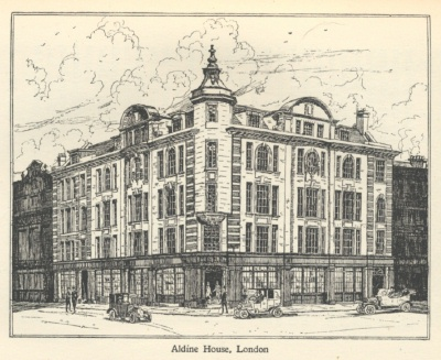 Aldine House sketch