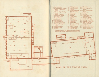 Temple Press floor plan